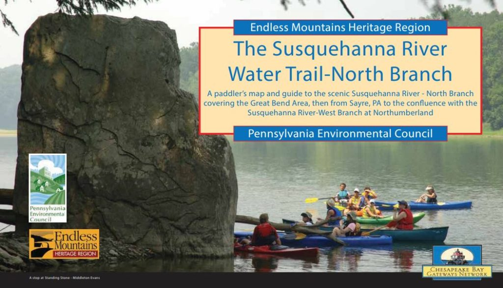 susquehanna river water trail north branch map thumbnail