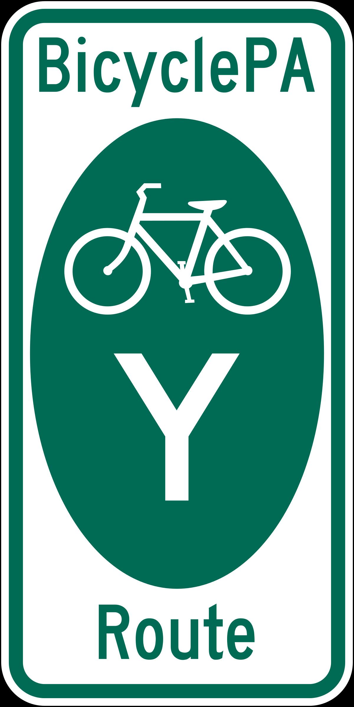 PA Bike Route Y