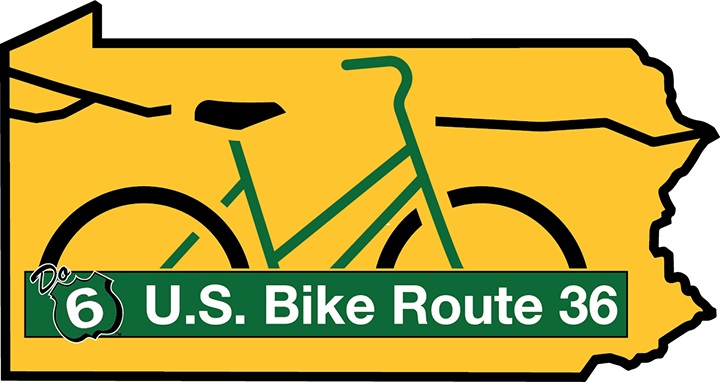 US Bike Route 36 Logo